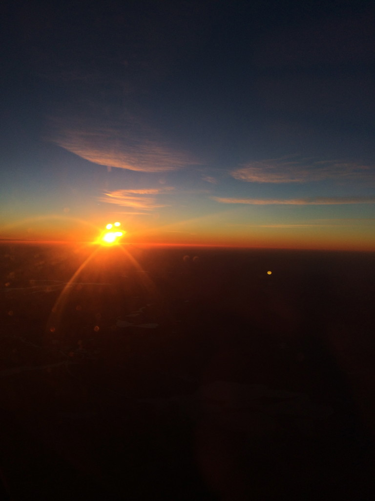 Sunrise over Germany